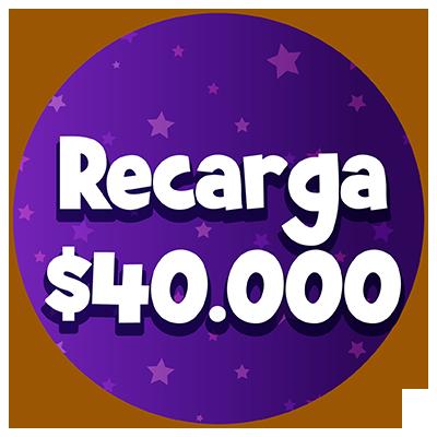recarga-40000